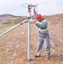 Ground Screw Pile Drilling Machine