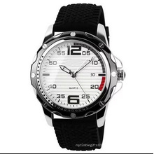 Guangzhou Watch Manufacture Quartz Silicon Strap Watch