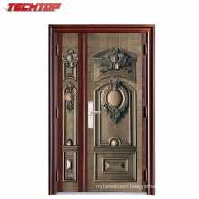 TPS-104 Good Quality Steel Main Entrance Door