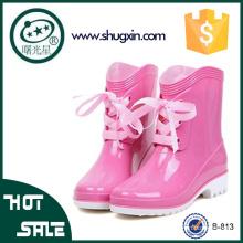 красивые женские резиновые сапоги клинья дождь ботинки женщин