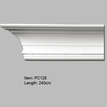 Pu Crown Moulding Casas de luxo