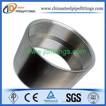 Stainless Steel Half Coupling NPT Thread