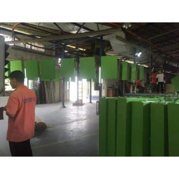 Aluminum veneer fluorocarbon painting line