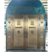 Top Luxury Stylish Entrance Steel Door