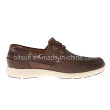 Chaussures en cuir décontractées en cuir décontracté