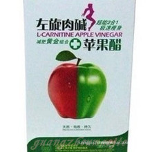 L-Carnitine Apple vinaigre naturel minceur Gel mou Capsule (MJ23)