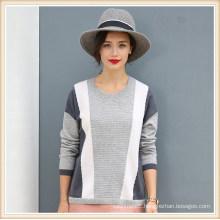 100% Cashmere Knitting Patterns Women′s Sweater