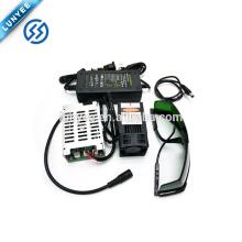 450nm 15000mW 12 V de Alta Potência Azul Laser Módulo DIY Laser gravador de acessórios