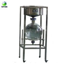 Dispositif de filtre d'aspiration de grande capacité 10L / 20L / 30L / 50L / filtre de fumée en verre