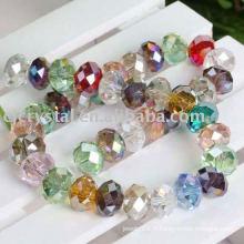 Perles en cristal Rondelle de qualité AAA