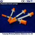 Disposable 1cc Insulin Syringes 0.5cc Insulin Syringes 0.3cc Insulin Syringes (ENK-YDS-050)