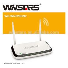 Roteador 3G de alta potência sem fio, roteador wifi sem fio 300 m, roteador sem fio com 2 antenas omnidirecionais destacáveis