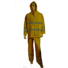Rain Suit with Waterproof Feature, PVC Polyester