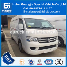 China Foton refrigerated van truck, van refrigerated container