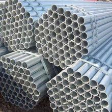 Tuyau galvanisé à chaud / tuyau galvanisé à chaud / tuyau en acier galvanisé sans soudure
