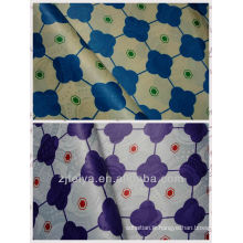 Nouvelle mode imprimé style damassé de brocart de Guinée de style africain Jacquard / textiles imprimés