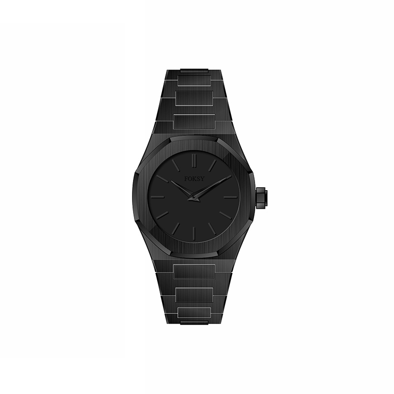 All black fashion hot sell watch