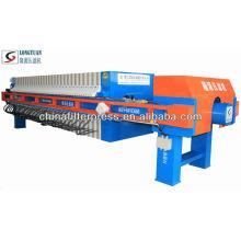 Membrana de los PP que exprime la prensa industrial automática del filtro de agua