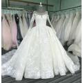 Vestido de noiva de manga comprida vestido de noiva 2017 luxo WT331 Vestido de novia