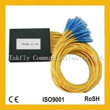 1X32 2.0 Sc Caja de ABS para Epon / FTTH / Fibra Óptica PLC Splitter
