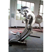 Escultura de acero inoxidable Escultura mate Matte SculptureFor Jardín / Al aire libre