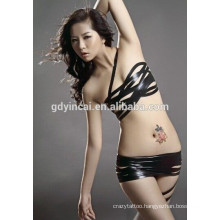 Costomized temporary tattoo for woman belly(CYMK)