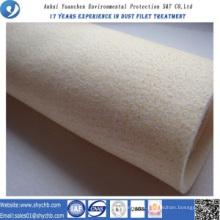 Saco de filtro não tecido de Nomex do coletor de poeira para a planta do asfalto