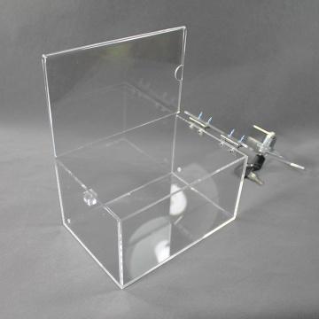 Custom Clear Acrylic Display Box With Lock