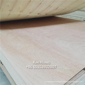contrachapado ordinario con bingtangor okume lápiz cedro cara de madera dura