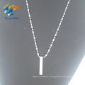 Custom designs wholesale beautiful stainless steel silver pendants chains necklace