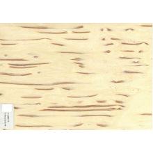Folheado de madeira de árvore de gelo branco