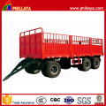 3 Axles 50 Tons Cargo Transport Draw Bar Trailer
