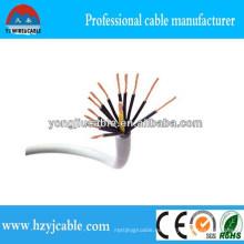 Cable de control 12 * 0.5mm 12 * 0.75mm Cable de cobre del cable de 12 * 1m m Especificación Cable de control flexible Multicab