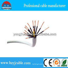 Кабель управления 12 * 0.5мм 12 * 0.75мм 12 * 1мм медный кабель кабеля управления Спецификация Гибкий кабель управления Multicab