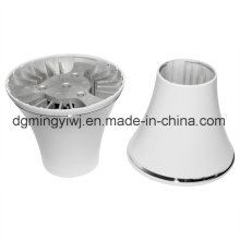 Moldes de fundición a presión de aluminio para piezas de luz LED con tratamiento de mecanizado fabricados en China