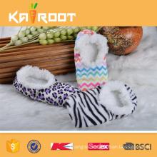 customized soft cheap wholesale slipper socks
