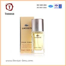 Boîte d'emballage en papier personnalisée pour parfum