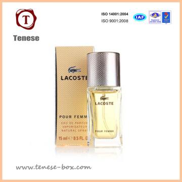 Caja de embalaje de papel personalizado para el perfume