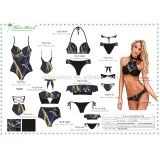 Miss Adola OEM weekly recommendation new designed tankini/ bikini/ one piece swimwear series