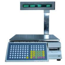 Échelle électronique d'impression à code-barres électronique avec affichage à pôles (TM-AA-5b / d)