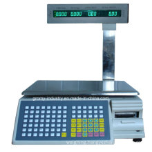 Digital Electronic Barcode Printing Scale with Pole Display (TM-AA-5b/d)