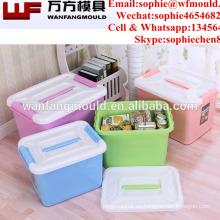 China suministra productos de calidad de polipropileno para el moldeo por inyección en una caja de almacenamiento de inyección en Taizhou