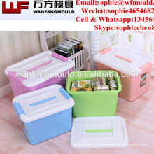 Китай поставляем качественные продукты полипропилен литья под давлением контейнер для литья под давлением ящик для хранения в Тайчжоу