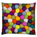 Colorful Polyester cushion
