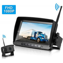 Backup Monitor Front Side Rear View Camera System