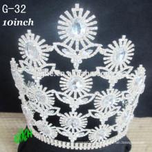 Nuevas coronas del desfile de la alta calidad para la venta, tiaras de la corona del desfile