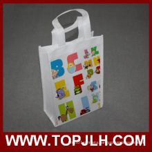 Blank White Non Woven Foldable Sublimation Tote Bag
