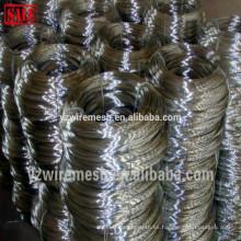 Alambre recocido negro alambre de hierro negro es suministrado por la fábrica
