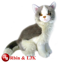 new year plush toy cat cushion