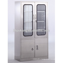 lockable stainless steel medical instrument cabinet